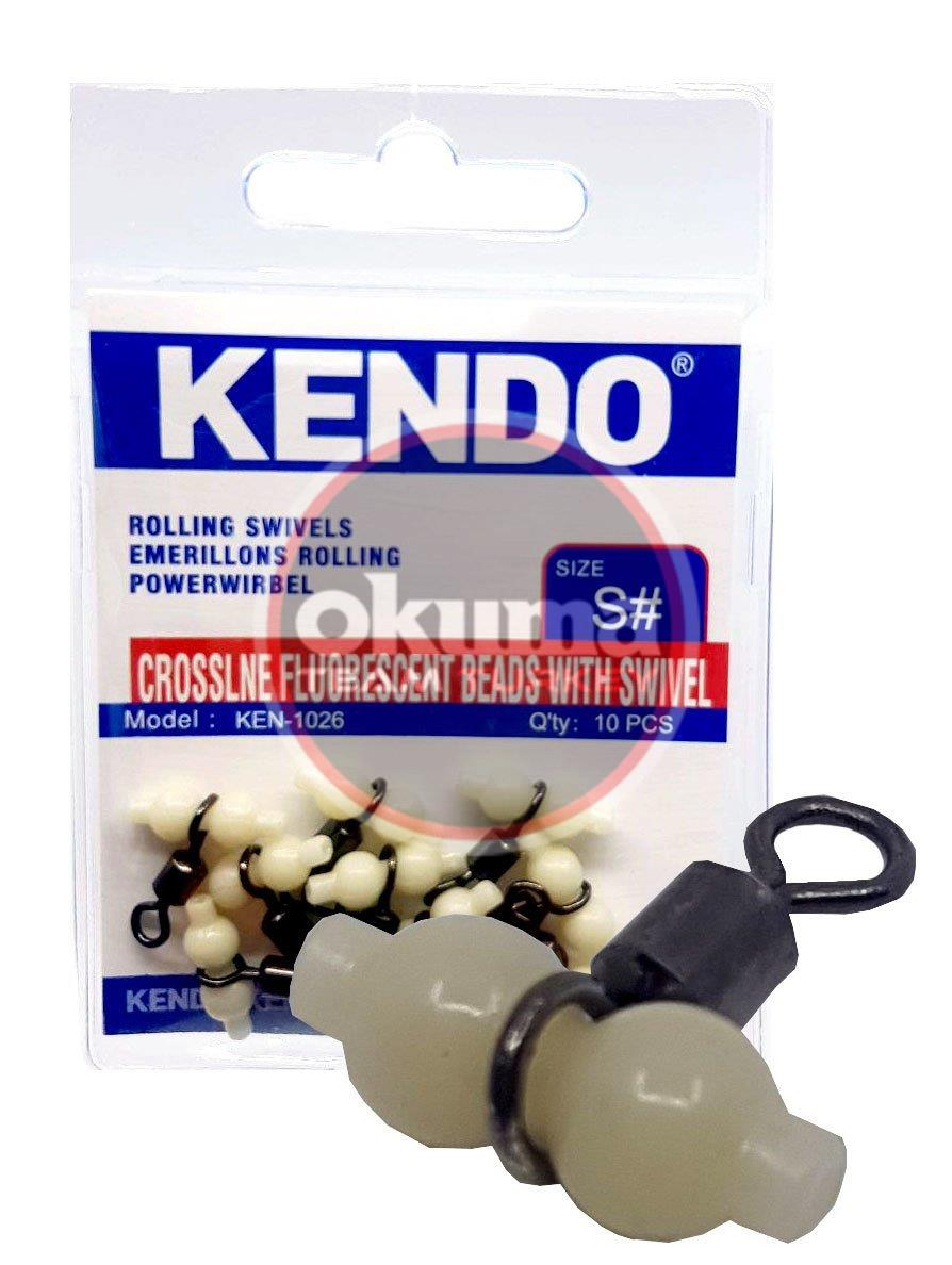 Kendo Crossline Fluorescent Beads With Swivel