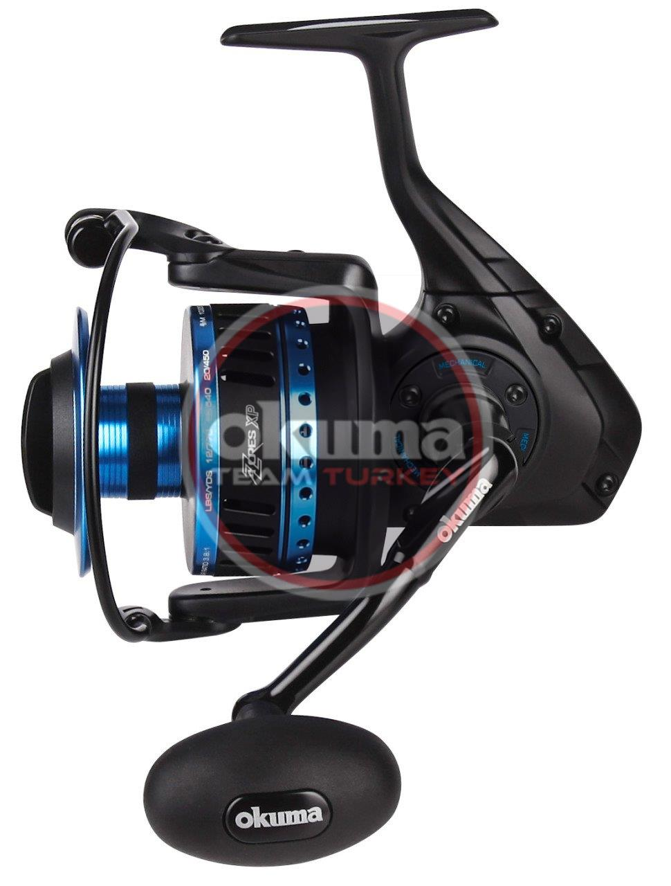 Okuma Azores ZXP-6000 (Low Speed ) 6+1 bb Olta Makinesi