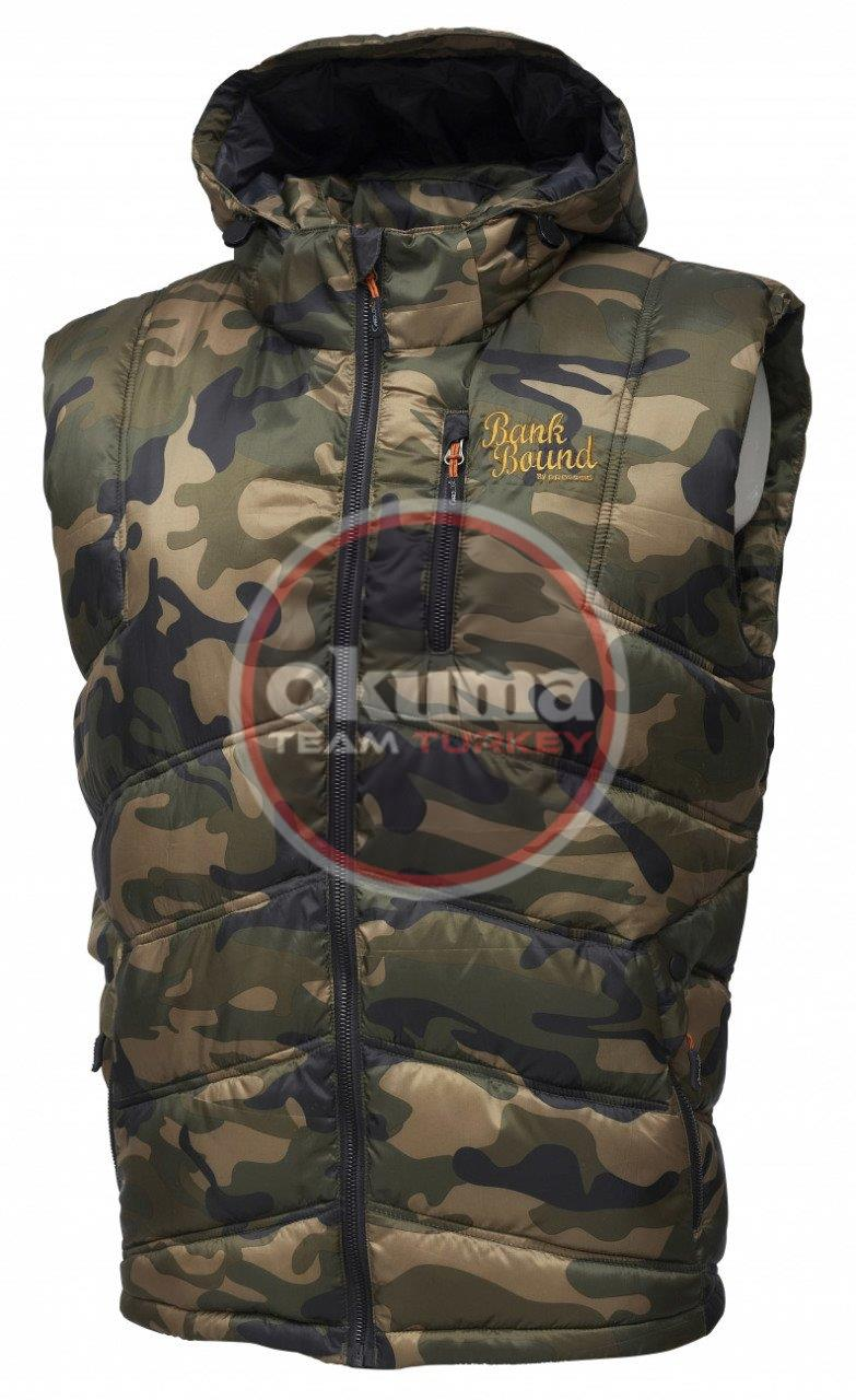 Prologic Bank Bound Thermo Vest Camo