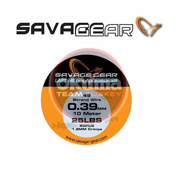 Savage gear 49 Strend Wire 0,39 mm çelik tel